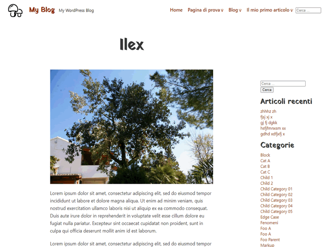 Tema ILEX
